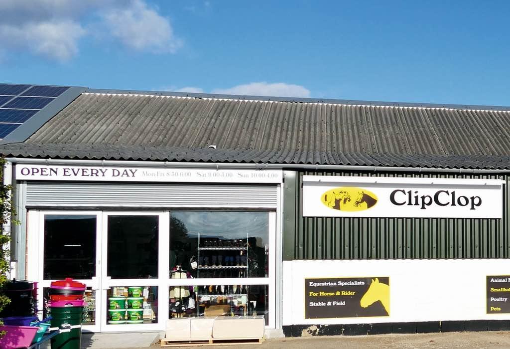 Clip and Clop shop front