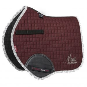 LeMieux Min Saddlecloth Rioja