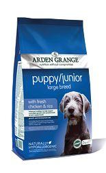 Arden Grange Puppy/Junior Large Breed Chicken & Rice
