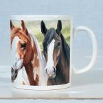 Horse Mug - Crazy Horses