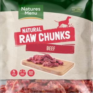 Natures Menu Beef Chunks