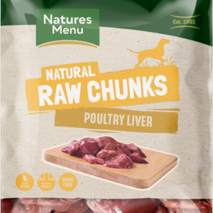 Natures Menu Raw Chunks Poultry Liver