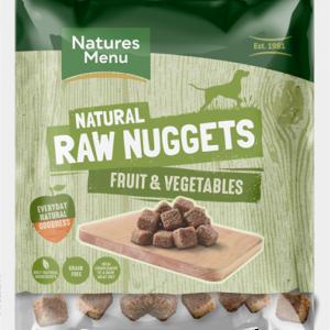 Natures Menu Raw Veggie Nuggets
