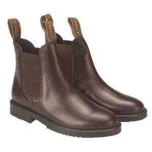 Rhinegold Childrens Classic Leather Jodhpur Boots