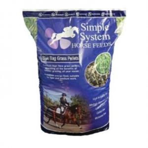 Simple Systems Blue Bag Grass Pellets