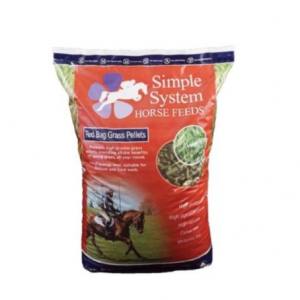 Simple Systems Red Bag Grass Pellets